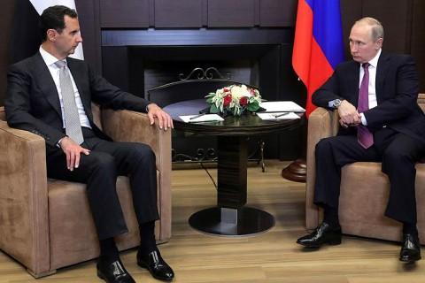 Putin - Esed Görüşmesi - Soçi
