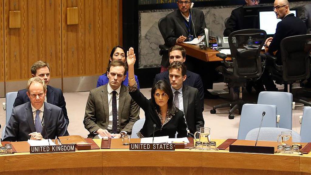 Nikki Haley - Amerika Birleşik Devletleri'nin Birleşmiş Milletler Daimî Temsilcisi