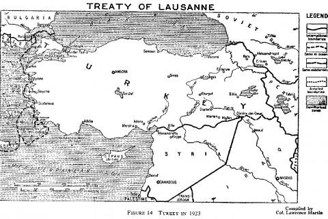 Lozan Haritası