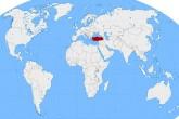 Dünya Haritası - Türkiye