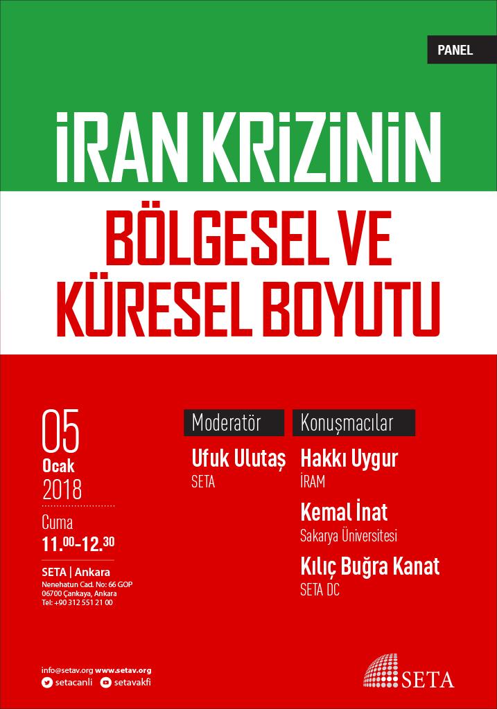 Panel: İran Krizin Bölgesel ve Küresel Boyutu