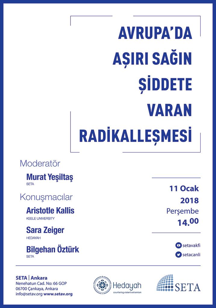 Etkinlik | Kitap Tanıtımı: Avrupa'da Aşırı Sağın Şiddete Varan Radikalleşmesi