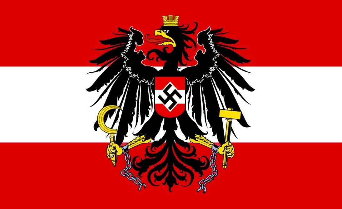 Avusturya Nazi Bayrağı