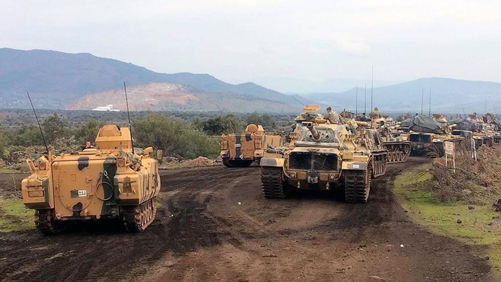 Zeytin Dalı Harekatında ÖSO birlikleri