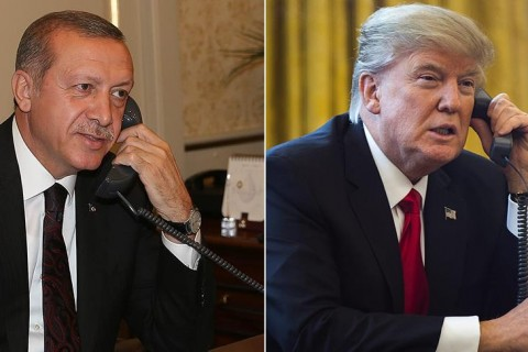 Recep Tayyip Erdoğan - Donald Trump