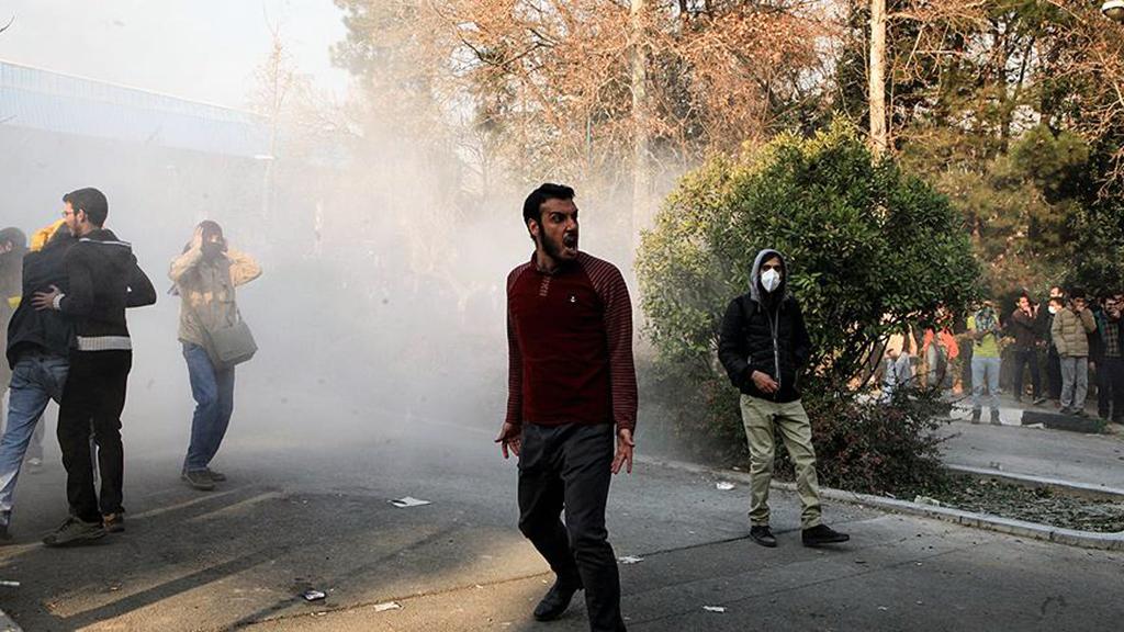 İran'da Sokak Ayaklanmaları