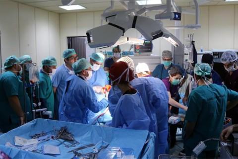 Erzurum'da bir ameliyat