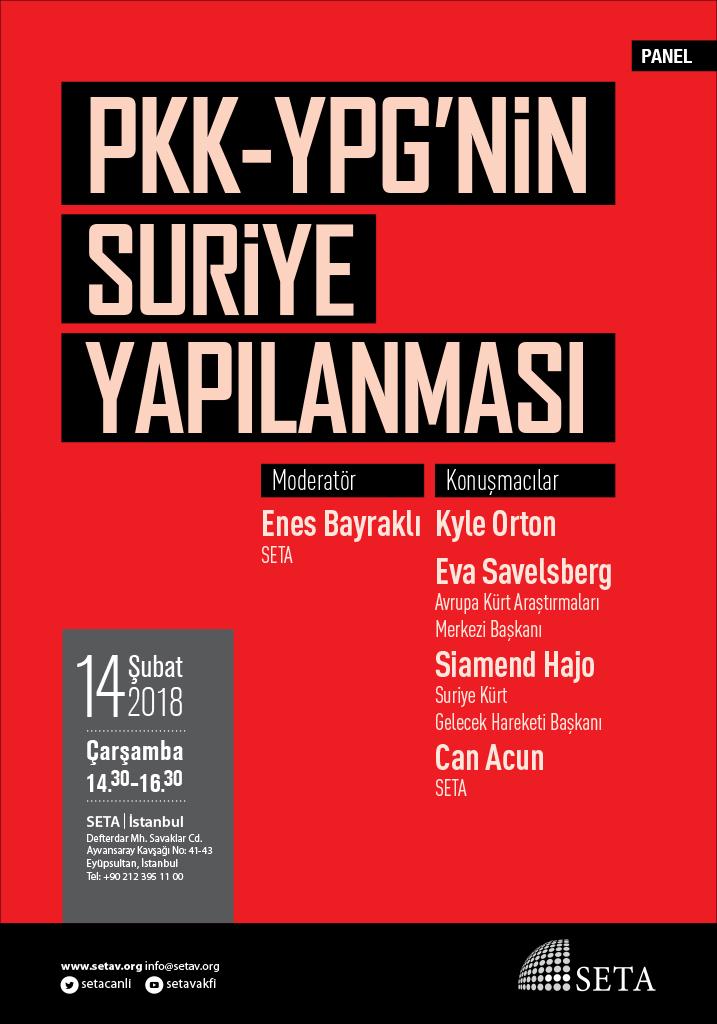 PKK-YPG'nin Suriye Yapılanması