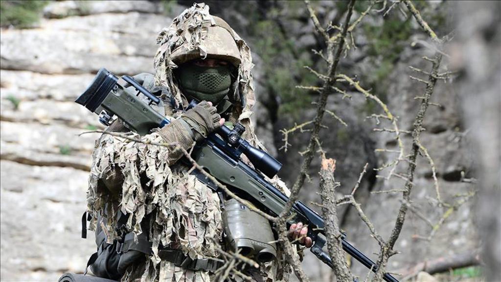 Zeytin Dalı Harekatı - Kadın Keskin Nişancı (Sniper)