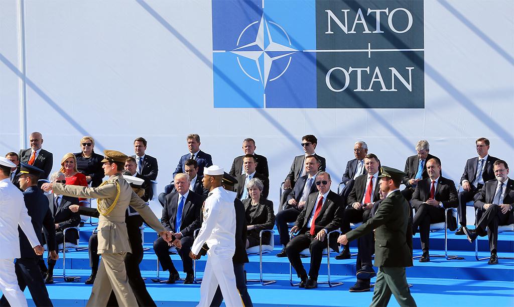 NATO Zirvesi Toplantısı - Recep Tayyip Edoğan