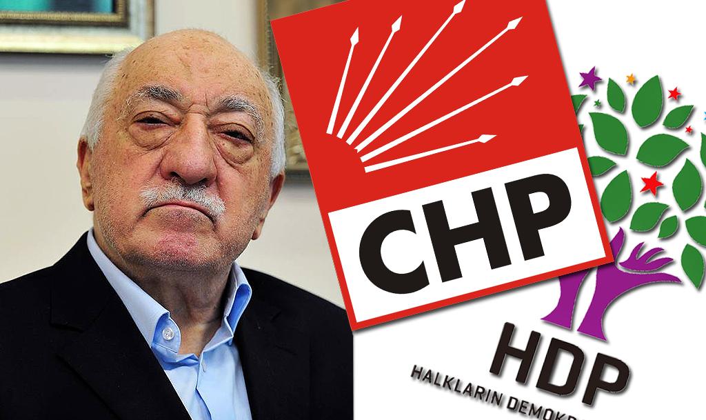 CHP - HDP - FETÖ
