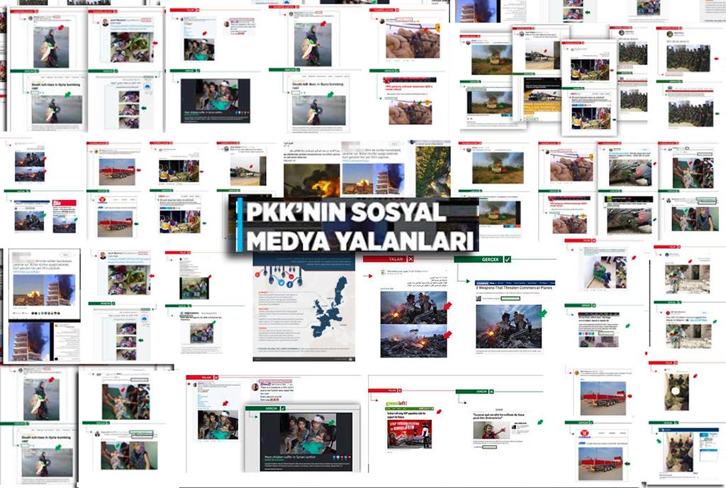 PKK'nın Sosyal Medya Yalanları
