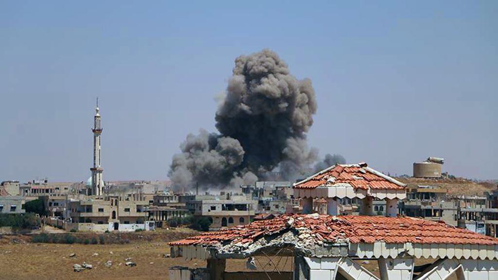 Esed Rejiminin saldırısı