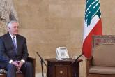 Rex Tillerson Lübnan'da Dışişleri Bakanını beklerken