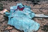 Suriye'de düşürülen Rus savaş jetinin parçası