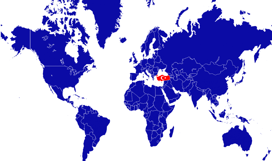 Dünya Haritası ve Türkiye