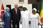 Cumhurbaşkanı Erdoğan ve eşi Emine Erdoğan, Mali Cumhurbaşkanı Keita ve eşi Aminata Keita
