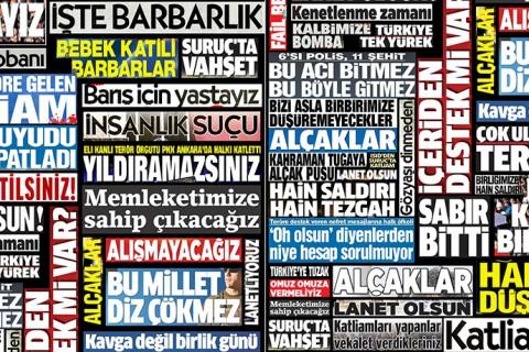 Türk Medyasında Terörün Ele Alınışı