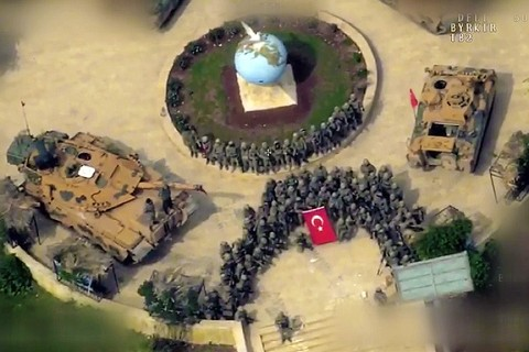Zeytin Dalı Harekatı, Afrin İlçe Merkezi
