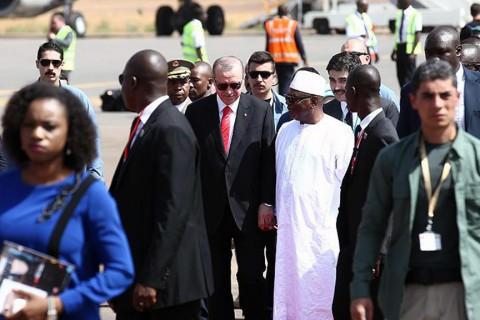 Cumhurbaşkanı Recep Tayyip Erdoğan'ın Mali ziyareti