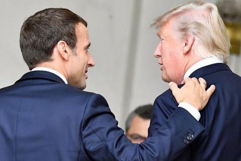 Trump ve Macron