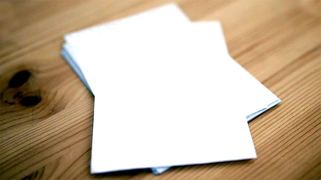 Boş Kağıt