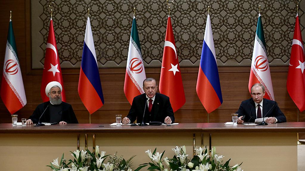 Türkiye, Rusya ve İran Cumhurbaşkanları