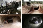 Afrin'de terör örgütü PKK / YPG / PYD tünelleri