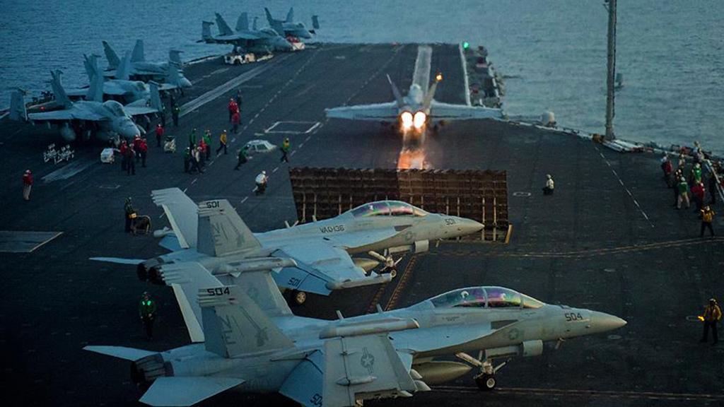 ABD uçak gemisi