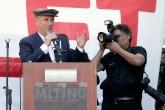 CHP'nin cumhurbaşkanı adayı Muharrem İnce, Manisa'nın Soma ilçesinde 13 Mayıs 2014'te meydana gelen ve 301 madencinin şehit olduğu facianın yıl dönümünde, İzmir Emek ve Demokrasi Platformu tarafından düzenlenen mitinge katılarak konuşma yaptı.