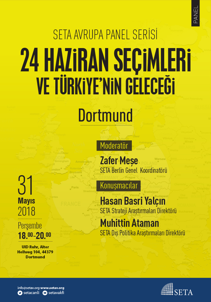 Panel: Dortmund | 24 Haziran Seçimleri ve Türkiye'nin Geleceği