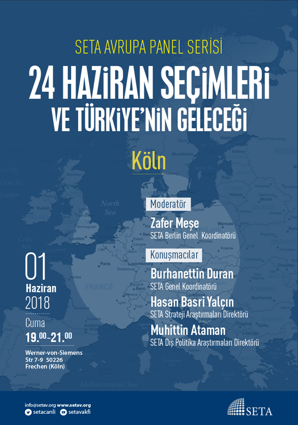Panel: Köln | 24 Haziran Seçimleri ve Türkiye'nin Geleceği