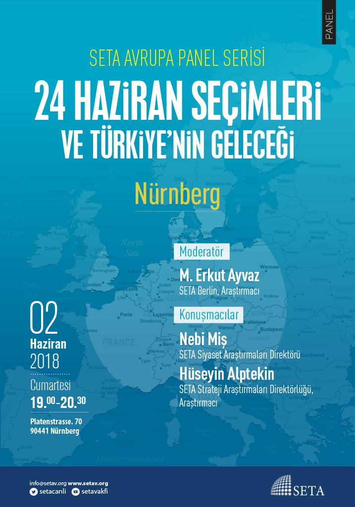 Panel: Nürnberg | 24 Haziran Seçimleri ve Türkiye'nin Geleceği