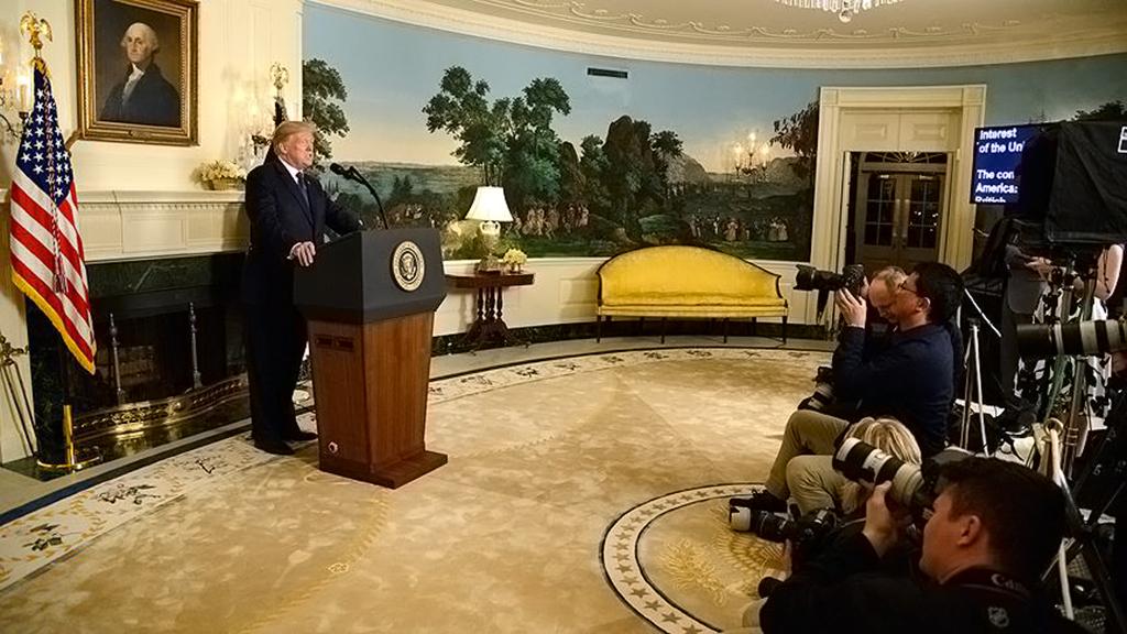Donald Trump - Beyaz Saray - Basın Açıklaması
