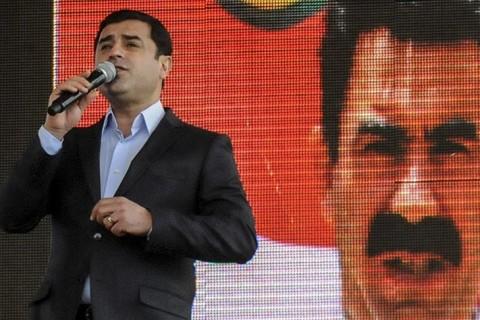 Selahattin Demirtaş - teröristbaşı Abdullah Öcalan