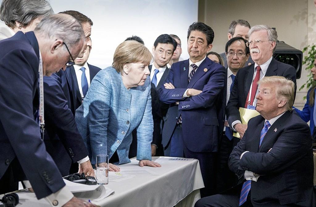 AB Ülke Başkanları - Donald Trump