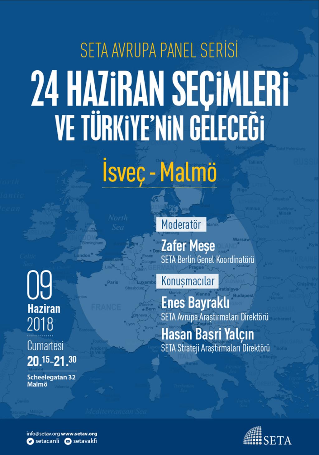 Panel: Malmö | 24 Haziran Seçimleri ve Türkiye'nin Geleceği