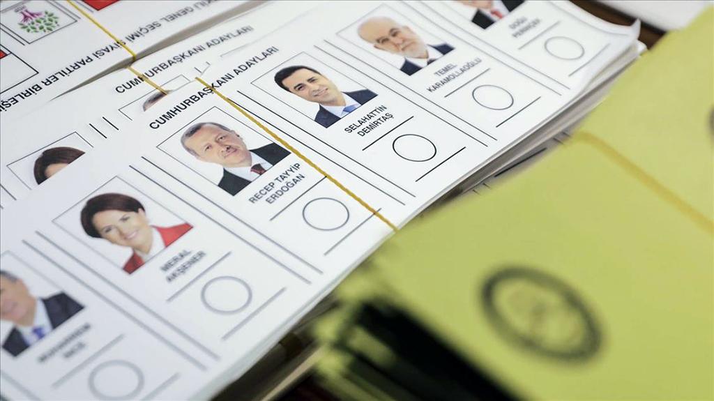 24 Haziran 2018 Erken Seçimi Cumhurbaşkanı Adayları - Oy Pusulası