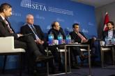 """Siyaset Ekonomi ve Toplum Araştırmaları Vakfı Washington Ofisince (SETA DC) """"Münbiç Anlaşması: Türk Amerikan İlişkilerinin Geleceği"""" başlıklı panel düzenlendi."""