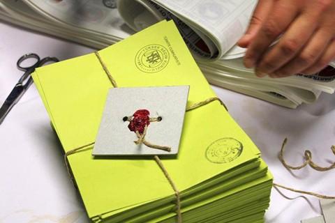 Oy Pusulası - Oy Zarfı