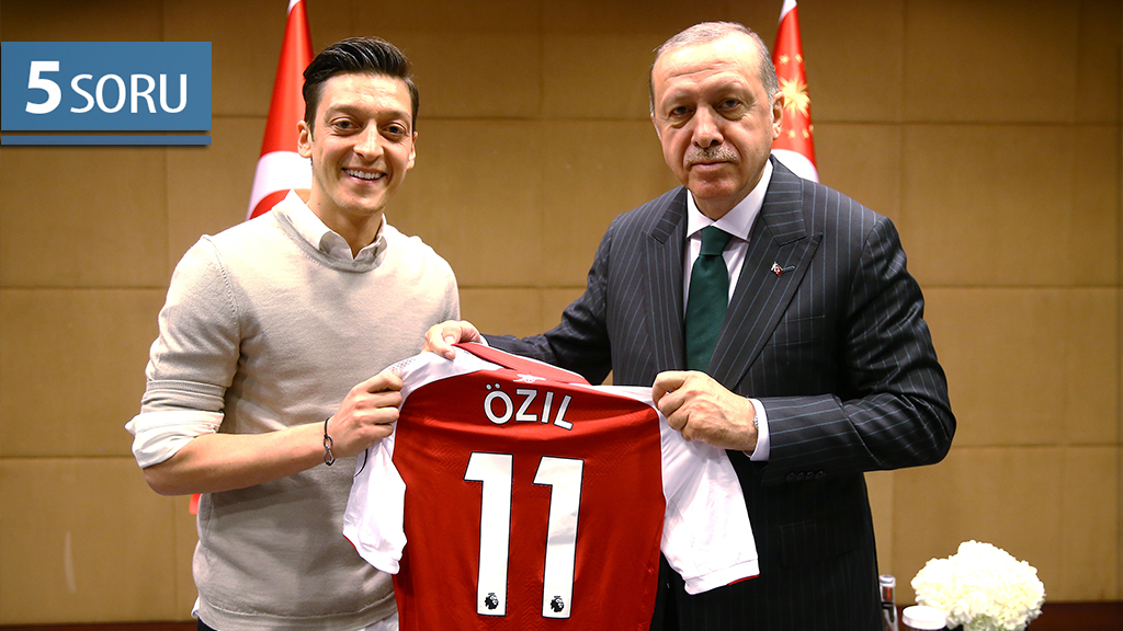 5 Soru: Mesut Özil Olayı