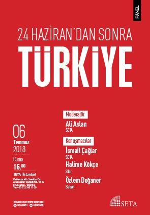 Panel: 24 Haziran'dan Sonra Türkiye