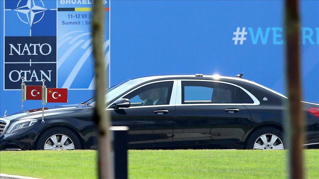 Cumhurbaşkanı - NATO Brüksel Zirvesi