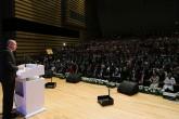 """Türkiye Cumhurbaşkanı Recep Tayyip Erdoğan, Siyaset, Siyaset, Ekonomi ve Toplum Araştırmaları Vakfı (SETA) tarafından düzenlenen """"Kuruluşundan Bugüne AK Parti Sempozyumu""""nda konuşma yaptı."""