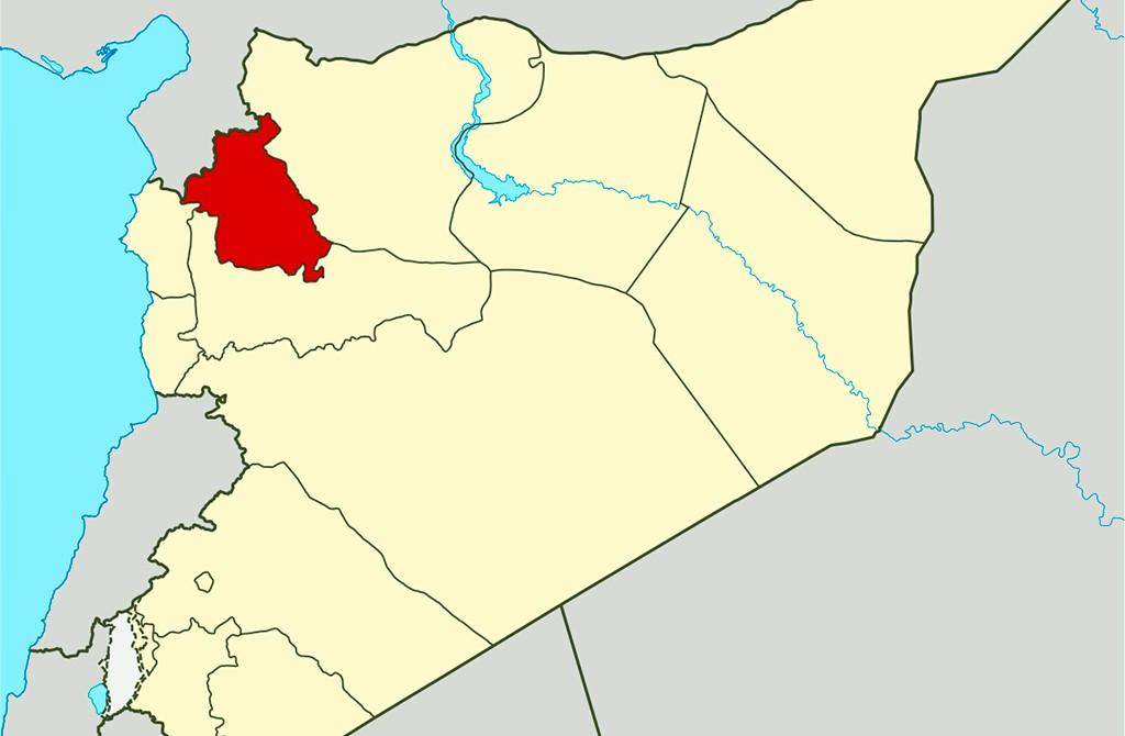 İdlib - Suriye Haritası