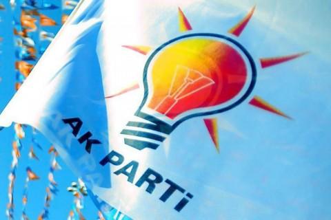 AK Parti mitinginden..