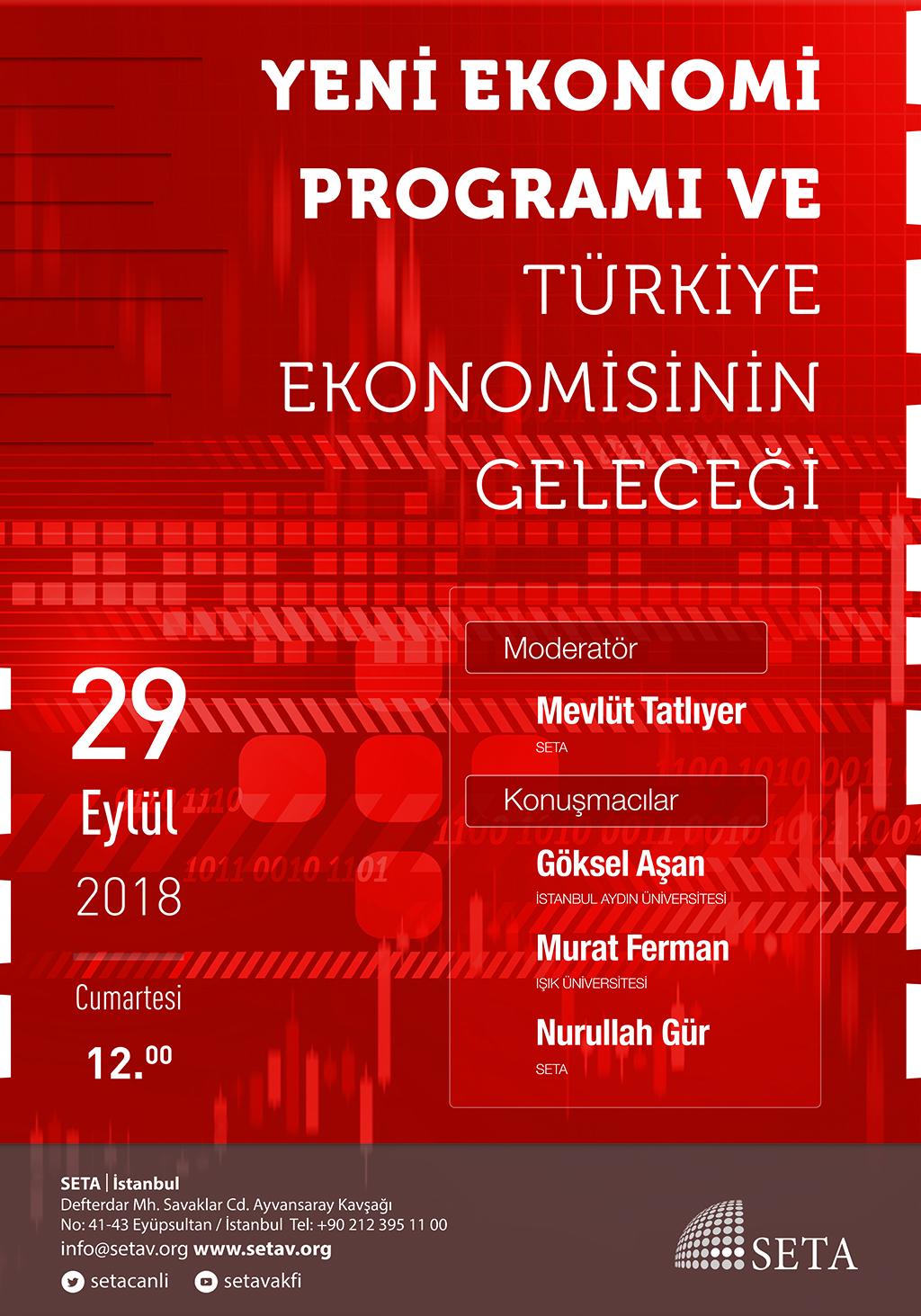 Panel: Yeni Ekonomi Programı Ve Türkiye Ekonomisinin Geleceği