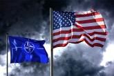 ABD ve NATO bayrakları