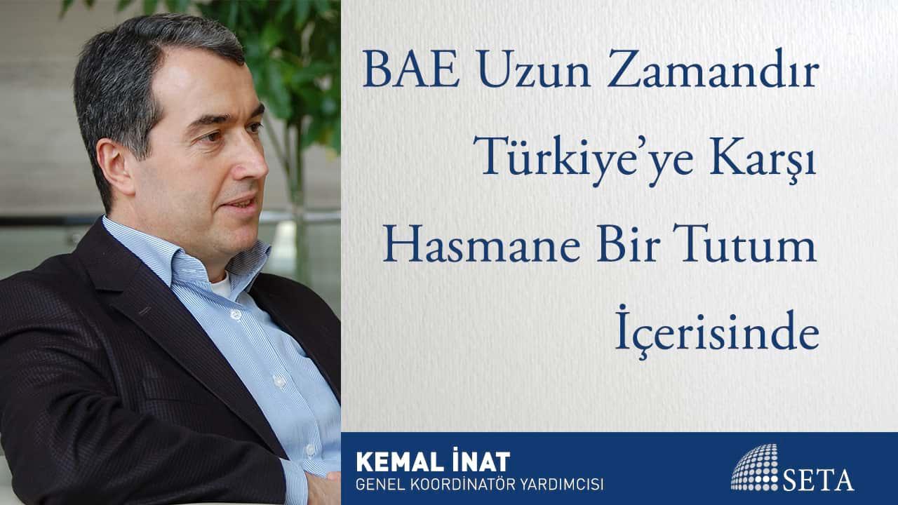 BAE Uzun Zamandır Türkiye'ye Karşı Hasmane Bir Tutum İçesinde