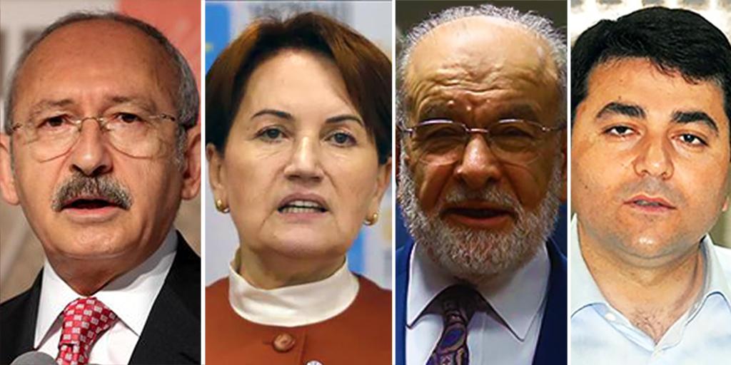 Muhalefet Partisi Liderleri
